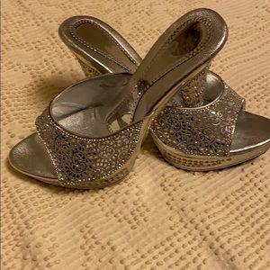 🆕Silver high heels